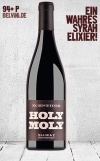 "Markus Schneider ""Holy Moly"" Syrah trocken 2011 - http://weinblog.belvini.de/markus-schneider-holy-moly-syrah"