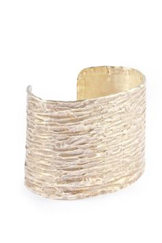 love the texture!   textured MAR cuff by Balboa Jewelry