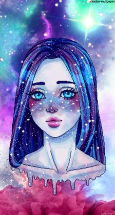Aesthetic Art, Holi, Disney Characters, Fictional Characters, Disney Princess, Trapper Keeper, Blue Nails, Pretty, Holi Celebration