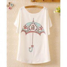 Camiseta umbrella 13,62€ www.quecucki.com