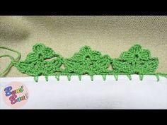 CROSETAT - Terminatie florala(Crochet edgings)
