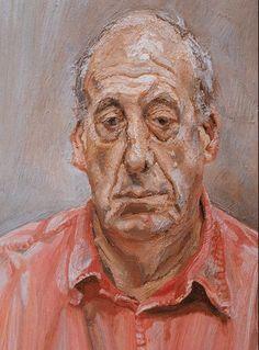 Bilderesultat for famous painters Lucian Freud, Sigmund Freud, Robert Rauschenberg, Edward Hopper, David Hockney, Statues, Artists And Models, Best Portraits, Paintings I Love