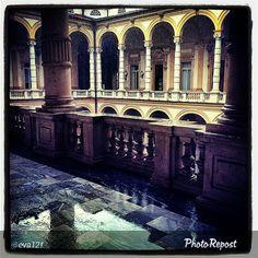 #Torino raccontata dai cittadini per #InTO Foto di eva12f #torino #pioggia #rain #turin #rettorato #università #unito #torinodalvivo