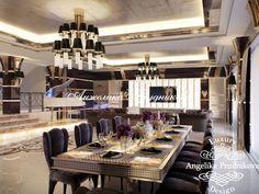 Дизайн интерьера гостиной в стиле Ар Деко (мебель - фабрика Visionnaire). Фото 2017 - Дизайн дома