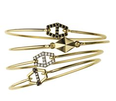 Gorgeous Jemma Wynne Prive Bangles - perfect for fall!