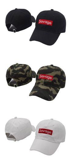 [Visit to Buy] Savage Baseball Cap Embroidery Men Dad Hat Cotton Bone Women Snapback Caps Hip Hop Sun Fashion Style Kpop Camouflage Caps #Advertisement