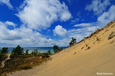 Grand Mere Dunes is cooler than you think Three Lakes, Experience Life, Road Trip Destinations, Vizsla, Lake Michigan, Small Towns, Waterfalls, Day Trips, Dune
