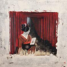 Kunstwerk van de dag!  Ingo Leth Temple red 100x100 cm Acryl on linen  Te zien in Galerie 'Bij Leth', Wilhelminastraat 13 te Emmen (in de Zuiderkerk).  Openingstijden Woensdag t/m zaterdag van 11-17 uur, 1e zondag van de maand van 12-17 uur of op afspraak.  www.bijleth.nl