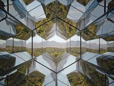 """Viewing Machine,"" is a play on kaleidoscopes from Danish-Icelandic artist Olafur Eliasson."