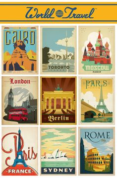 "Anderson Design Group: Blog: NEW ""Vintage"" Travel Posters!"