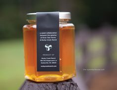 Packaging / Print Design -- Honey Labels // If pinning, please credit © the-summerhouse.com