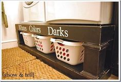 Laundry room organization for-the-home