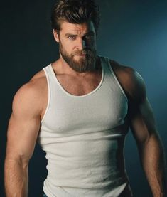 the most powerful muscle building formula for maximum size and strength Hot Men, Hot Guys, Hairy Men, Bearded Men, Beefy Men, Awesome Beards, Muscular Men, Moustache, Good Looking Men