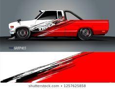 Mini Trucks, Cool Trucks, B13 Nissan, Drift Truck, Car Paint Jobs, Nissan Trucks, Little Truck, Classic Pickup Trucks, Truck Decals