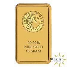 10g Perth Mint Gold Bar Gold Bullion Bars Gold Bullion Mint Gold