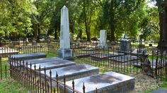 Spookiest cemeteries in the US  @Foxnews @GotoTravelGal, American Cemetery, Natchitoches, La.