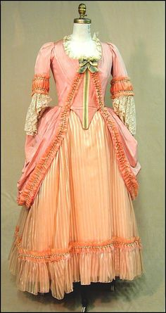 18th C. Dress from the TDF Costume Collection