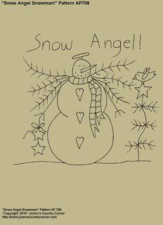 Free Printable Primitive Snowman Patterns | or reproduction of the pattern is not allowed. Copying the pattern ...