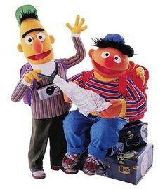 Bert & Ernie Sesame Street Muppets, Sesame Street Characters, Disney Characters, Fictional Characters, Bert & Ernie, Fraggle Rock, The Dark Crystal, Jim Henson, Kermit