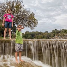 """""""The most common way people give up their power is by thinking they dont have any.""""  Alice Walker  _  Chillin' at the Blue Hole this week in Georgetown Texas. This town is home to the most beautiful town square in Texas. You have to check out this place located about half an hour north of Austin.  _  If you're following us on Facebook or Instagram Stories and having trouble keeping up where we are don't worry. So are we!  _  I was in Japan just over a week ago then in BC Canada Erin took a…"""