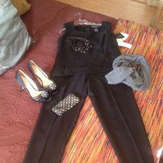 Selling this 2 pc pants set with bead detail in my Poshmark closet! My username is: edwardswife. #shopmycloset #poshmark #fashion #shopping #style #forsale #Sag Harbor #Other