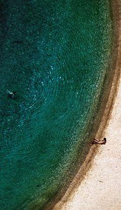 Agios Dimitrios Beach, Evia, Greece by Vagias Katsos (Βάγιας Κατσός) Beautiful Scenery, Beautiful Beaches, Places Around The World, Around The Worlds, Sailing Cruises, Greek Culture, Cruise Destinations, Greece Islands, Stunning Photography