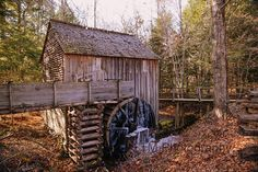 Cable Grist Mill  Cable Mill  The Great Smoky by turquoisemoon