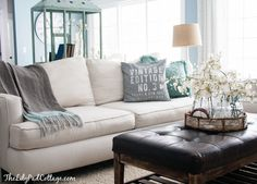 Living Room Decor Updates - Christmas Aftermath - The Lilypad Cottage