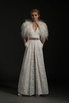 689b6e761d5 Wedding Jumpsuits And Trousers For The Fashion-Forward Bride