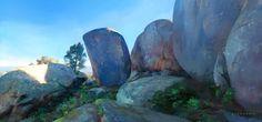 """Cynthia Sheppard """"Melville Cave Trail,"""" virtual plein air study (from Google Earth), digital, 2014."""