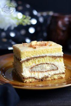 Polish Recipes, Food Cakes, Dessert Bars, No Bake Desserts, Vanilla Cake, Ale, Cake Recipes, Cheesecake, Food And Drink