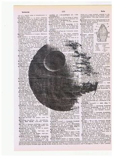 Death Star print