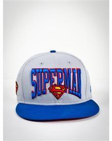 New Era Word Mark 'Superman' 9FIFTY Snapback Hat