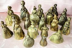 Current 19 piece collection of lady bells