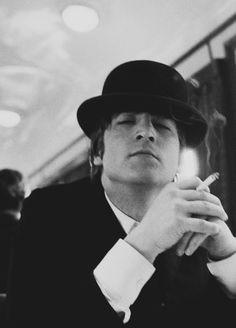 John smoking