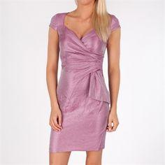 London Times Shimmer Sweetheart Dress vm