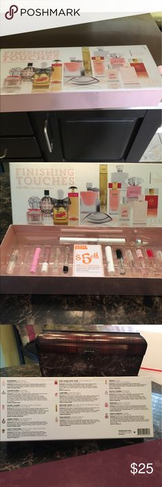 Beautiful Ulta Perfume Collection Only 1 vial Missing Never used except one missing Ulta Accessories