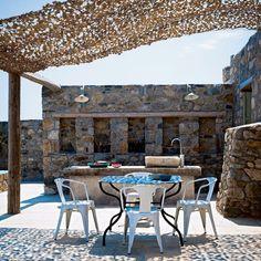 Un ancien abattoir transformé en maison sur l\'île de Sérifos