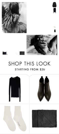"""""""L O S T"""" by newageconstellation ❤ liked on Polyvore featuring Rick Owens Lilies, CÉLINE, Acne Studios, Comme des Garçons, Rick Owens and BP."""