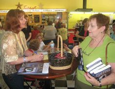 """From Brandilyn Collin's Blog Forensics & Faith, the post """"Behind the Scenes of a Book Signing--Part 2."""""""