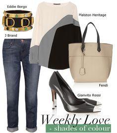 Weekly Love Outfit : Shades of Colour