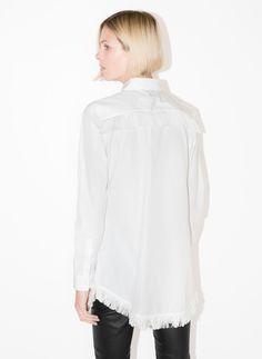 Camisa flecos - Nuevo en tienda - Uterqüe España