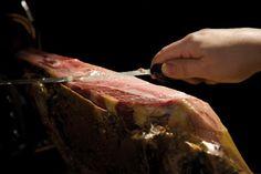 Jamon iberico bellota Prosciutto, Coffee Drinks, Steak, Pork, Food And Drink, Wedding, Serrano Ham, Cooking, Art