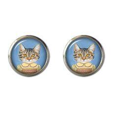 Miss Tabitha Kitten Earrings - Tessies