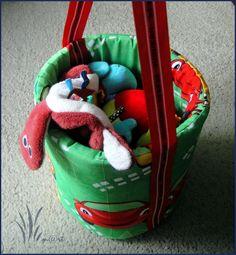 SPONGE BUCKET FOR TOYS  http://marta-mojepasje.blogspot.com/