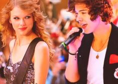 I'm partially into Taylor Swift now. But, 1D does not equal good relationship with her.