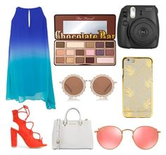 """""""Sin título #51"""" by fridamarciano on Polyvore featuring moda, MICHAEL Michael Kors, Ray-Ban, House of Holland y Too Faced Cosmetics"""