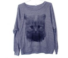 I seem to be digging cat clothing lately... Am I turning into a crazy cat clothing lady?