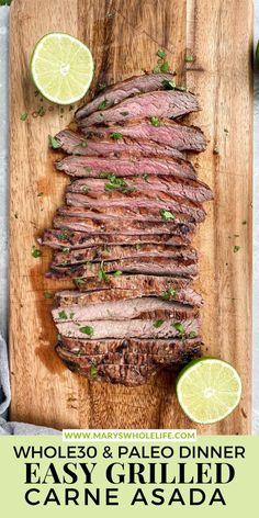 These Whole30 Carne Asada Bowls are a delicious and easy way to make grilled Australian grassfed flank steak or skirt steak. They are low carb, Keto, and paleo. Perfect for grilling season! #whole30 #whole30recipes #ketorecipes #paleo #paleorecipes #carneasada #grilledsteak #steaktacos #grassfedsteak #beausome #healthymeals #grillingideas #steakmarinade How To Make Taco, Food To Make, Whole30 Recipes, Dairy Free Recipes, Mexican Food Recipes, Whole Food Recipes, Whole 30 Dessert, Grillin And Chillin, Plant Paradox