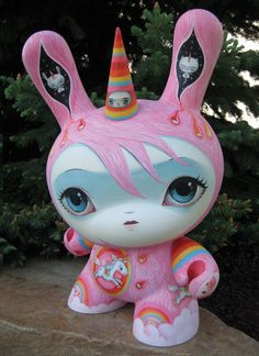 Super Rainbow Dunny by 64colors